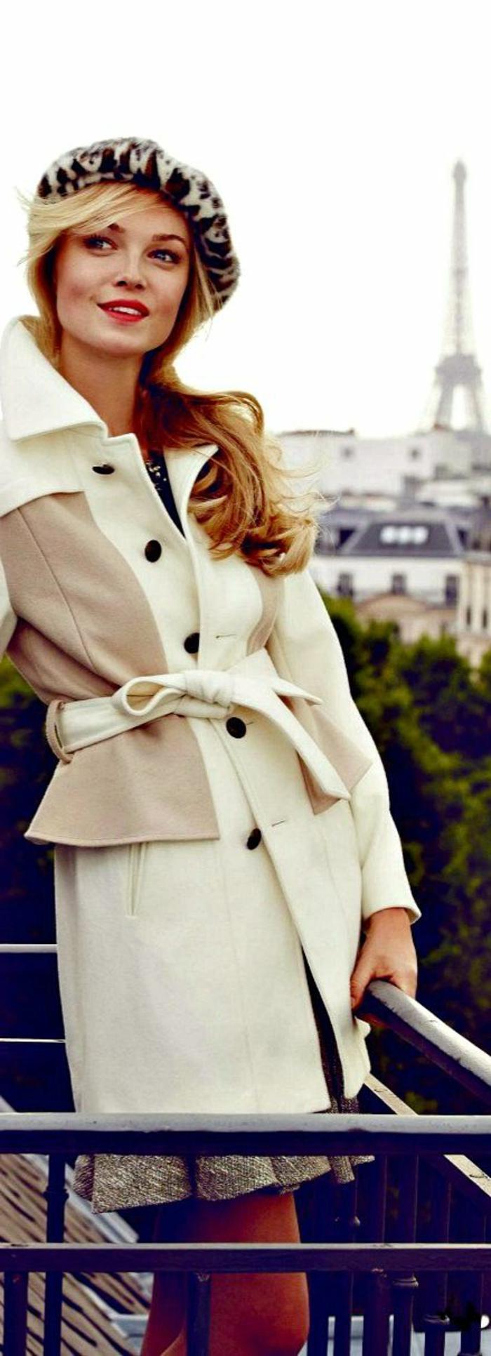 Straßenmode-französischer-Stil-extravagante-Mütze