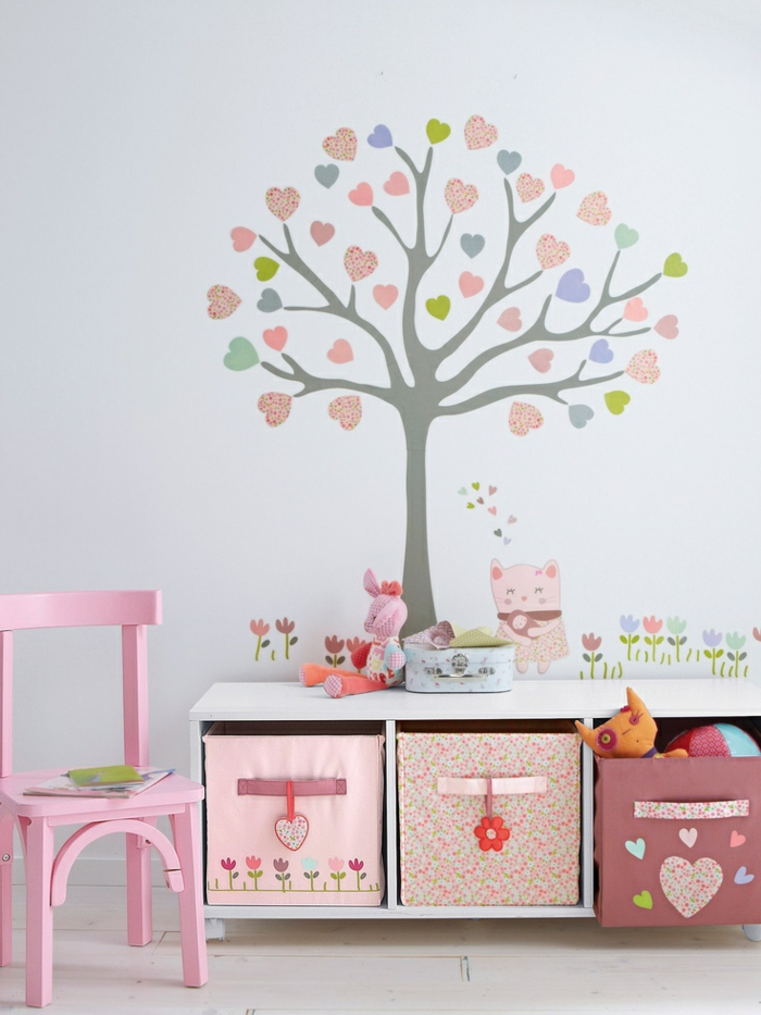 wandtattoo blumen kinderzimmer prinsenvanderaa. Black Bedroom Furniture Sets. Home Design Ideas