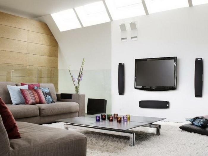 wohnzimmer afrika deko:wunderschönes wohnzimmer – afrikanische deko – weiße wand