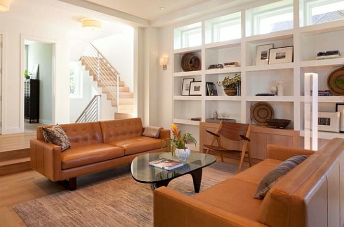 wohnzimmer afrika deko:weiße gestaltung im wohnzimmer – afrikanische deko