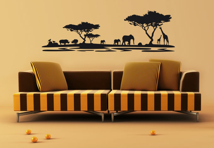 afrika deko 45 sehr interessante fotos. Black Bedroom Furniture Sets. Home Design Ideas