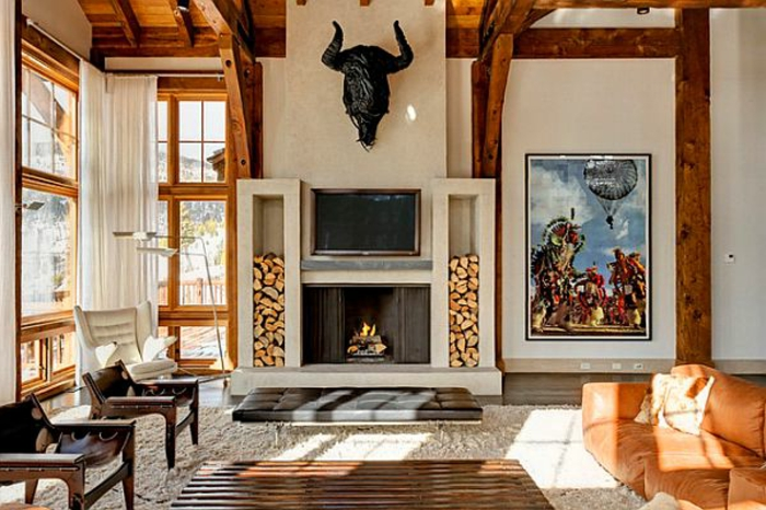 Wandgestaltung Afrika Stil Tolles Interieur Afrikanische Deko Sehr Kreativ