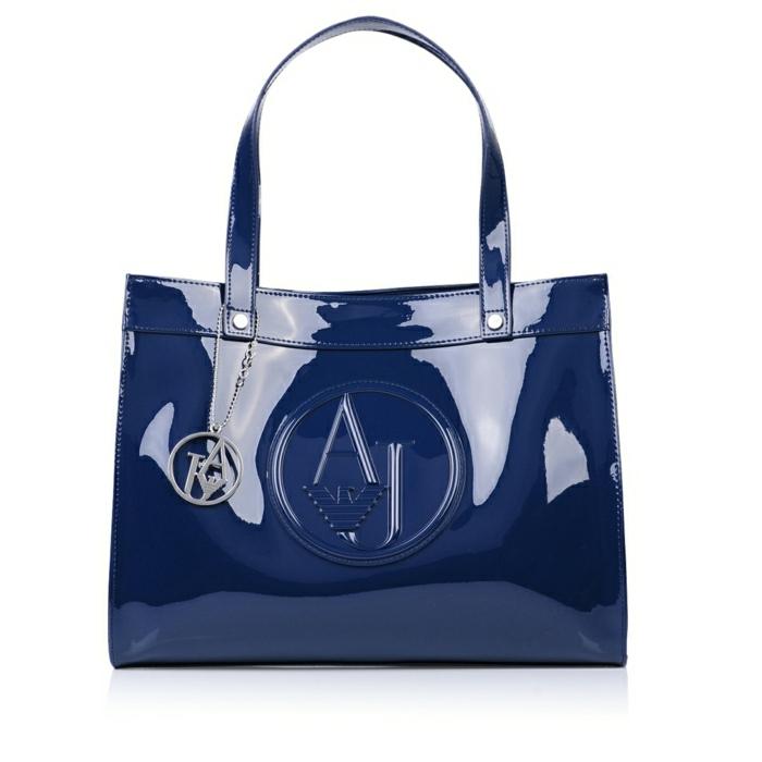 armani-taschen-blau-glanz-optik-damen