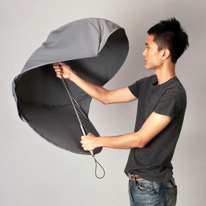 ausgefallene-regenschirme-einmaliges-graues-design