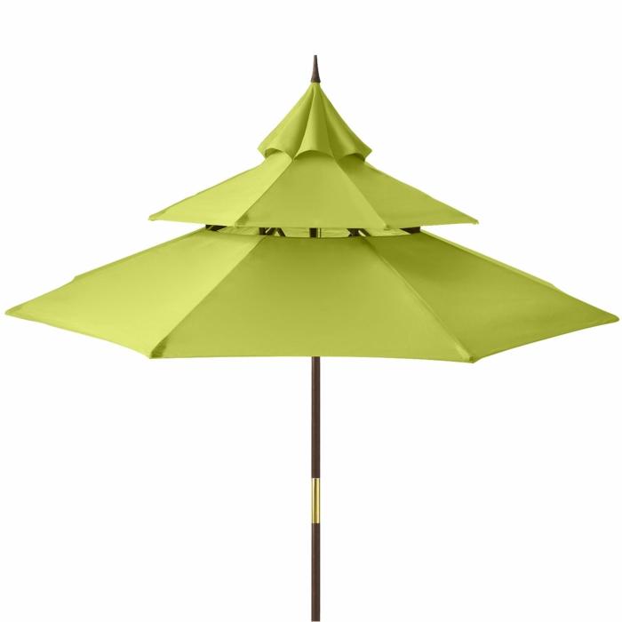 ausgefallene-regenschirme-modell-in-drei-etagen