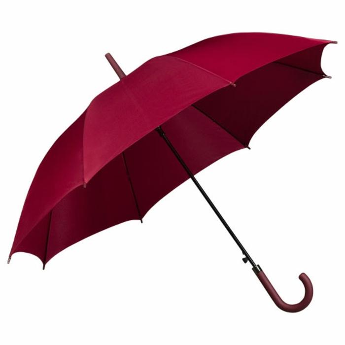 ausgefallene-regenschirme-wunderschöne-rote-rosige-farbe