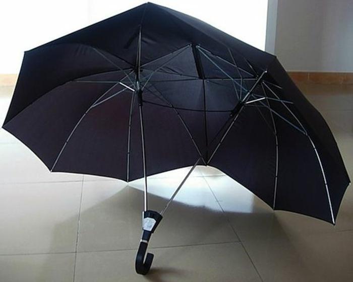ausgefallene-regenschirme-zwei-modelle-in-einem-schwarze-farbe
