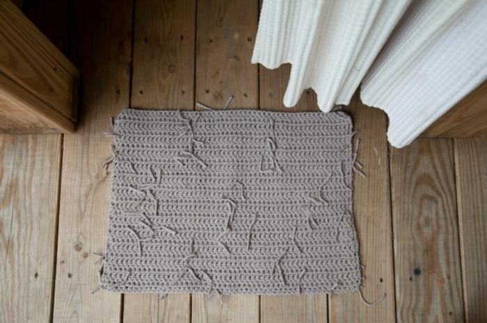 baumwolle-badematte-foto-von-oben-gemacht