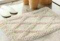 Die Baumwolle Badematte ist eine praktische Lösung fürs Bad