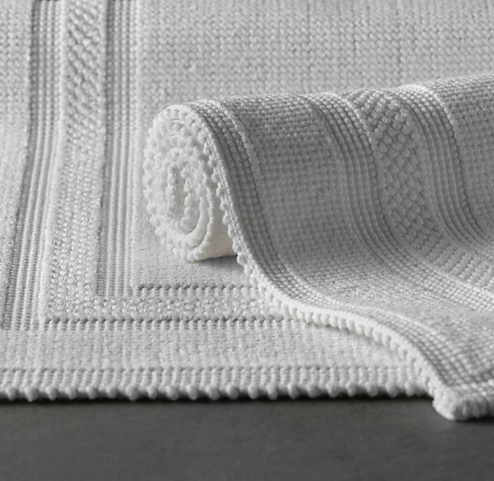 Die baumwolle badematte ist eine praktische l sung f rs for Badezimmermatte design