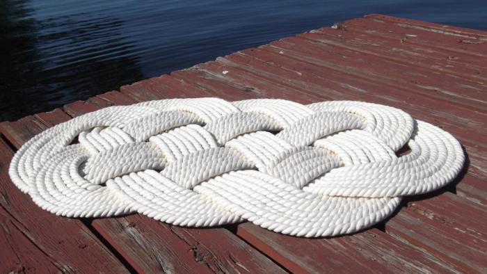 baumwolle-badematte-weiße-gestaltung
