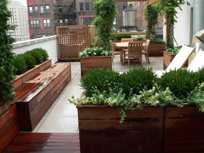 54 Bilder Mit Bepflanzung F R Dachterrasse