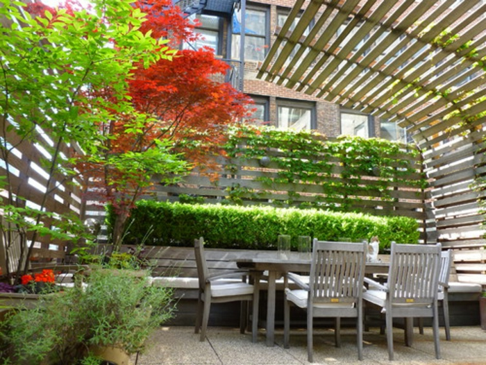 54 bilder mit bepflanzung f r dachterrasse for Dachterrasse sichtschutz