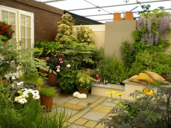 Geliebte 54 Bilder mit Bepflanzung für Dachterrasse - Archzine.net #HH_69