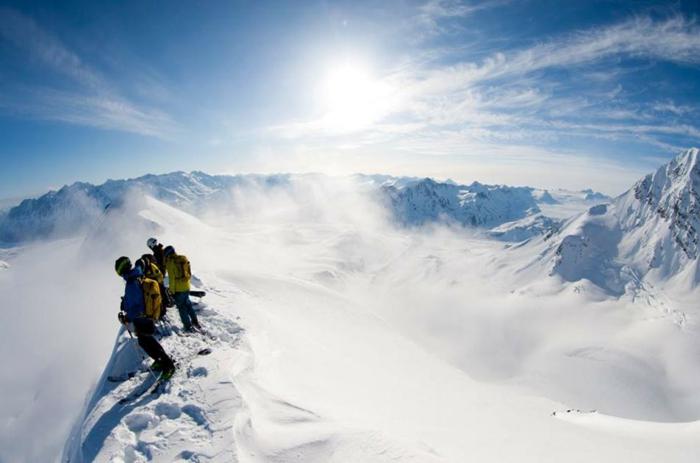 bilder-von-skifahren-die-schöne-sonne-scheint