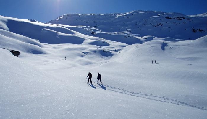 richtig klasse aussehende skifahrer bilder