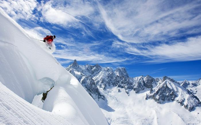 bilder-von-skifahren-weiße-wolken