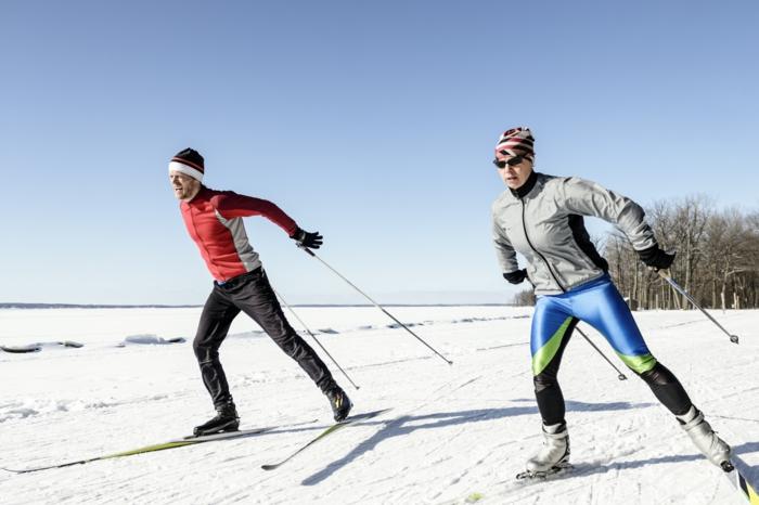 unikale skifahrer bilder - harmonie ausstrahlung