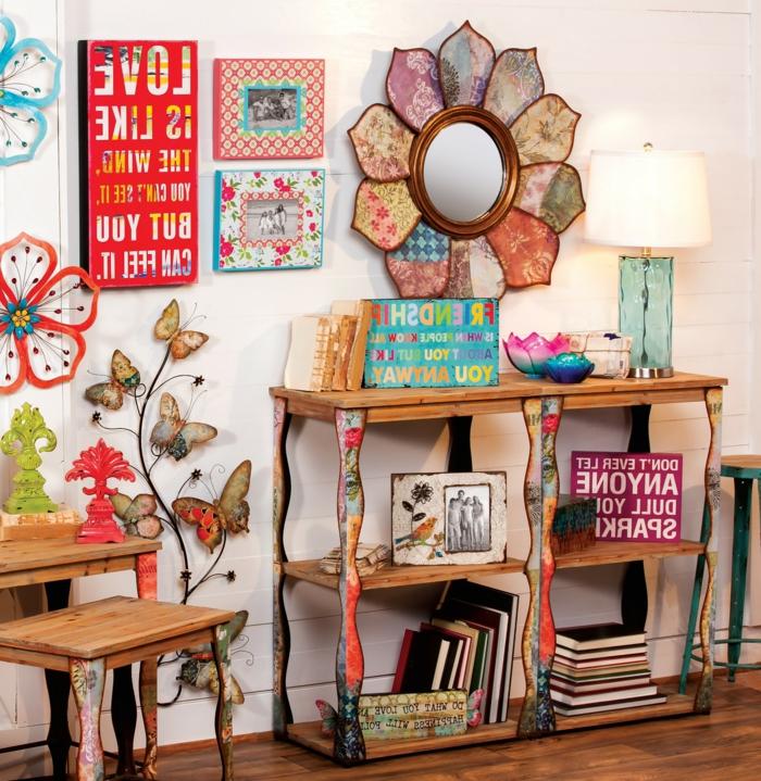 bunte-Schlafzimmer-Gestaltung-Boho-Stil-Dekoration