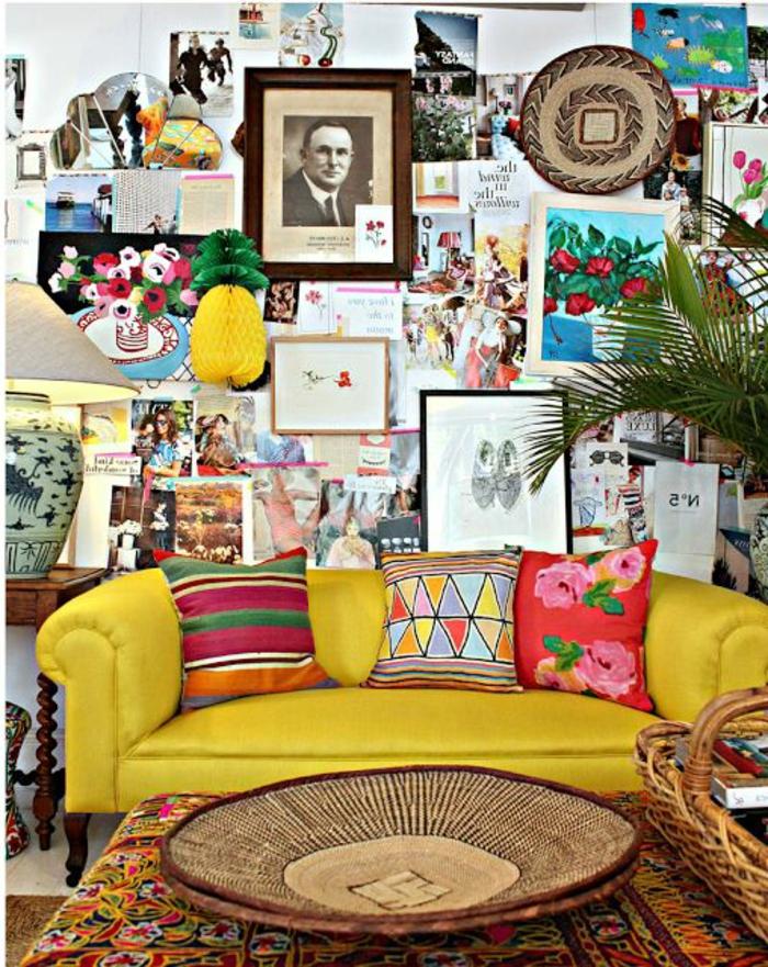 bunte-Zimmer-Gestaltung-Boho-Stil-reiche-Dekoration