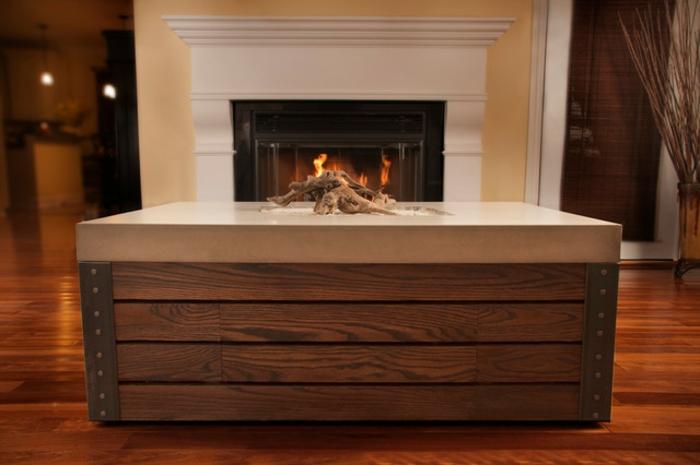 Pin Dieser Extravagante Couch Tischaus Massivem Suar Holz