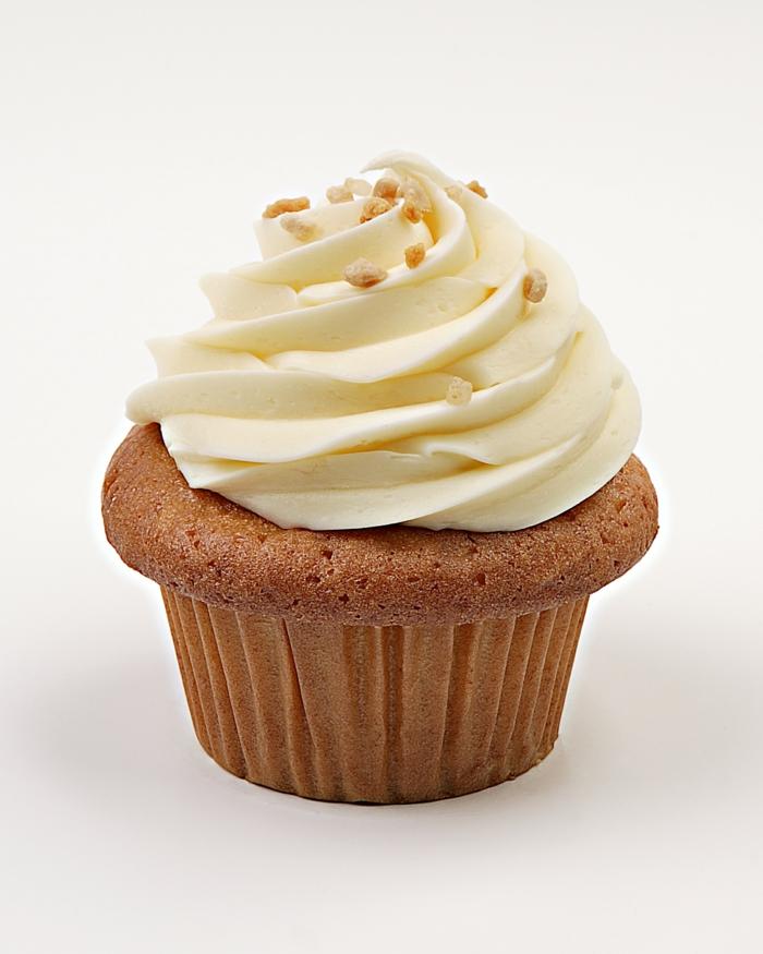 cupcake-braun-Vanille-Creme-lecker-süß-verlockend-aussehend