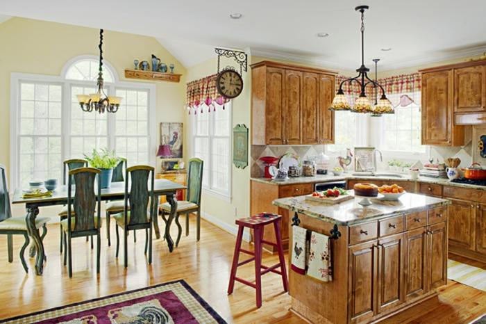 deko-ideen-für-küche-landhausdesign