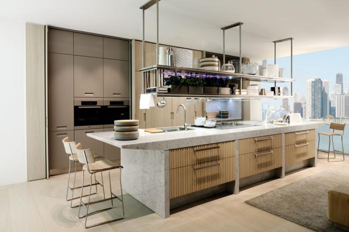 deko-ideen-für-küche-modernes-design