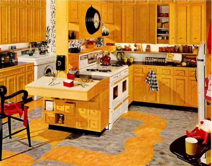 deko-ideen-für-küche-retro-modell
