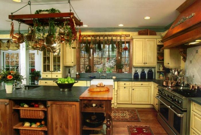 deko-ideen-für-küche-sehr-gemütliches-interieur