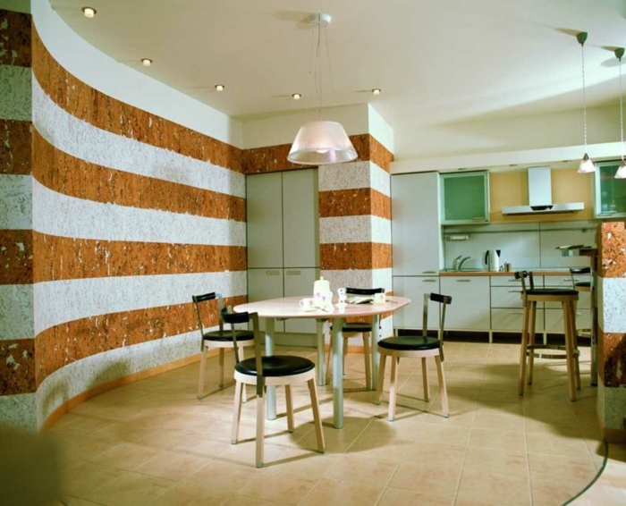 Ideen Fur Kuchen Wandfarben : super dekoration in der küche  elegante dekoleuchten