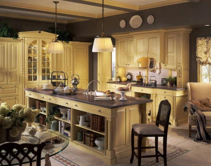 Deko Ideen Für Küche Warmes Schönes Licht