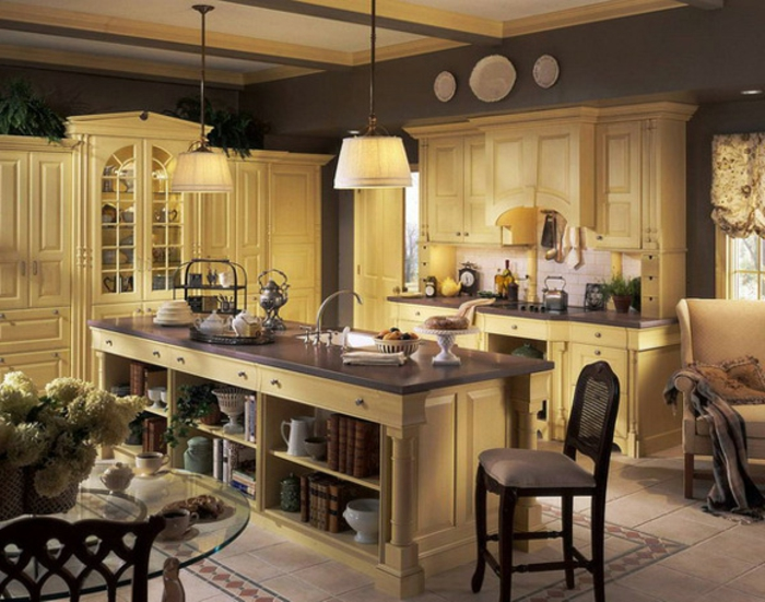 57 interessante deko ideen f r k che. Black Bedroom Furniture Sets. Home Design Ideas