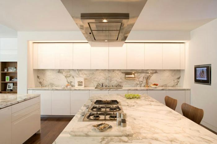 deko-ideen-für-küche-weiße-schöne-ausstattung