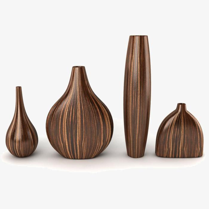 deko- vasen-vier-verschiedene-modelle
