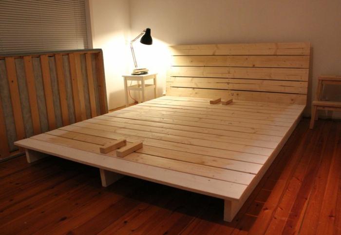 Bett selber bauen ohne lattenrost  Das DIY Bett kann Ihr Schlafzimmer völlig umwandeln! - Archzine.net