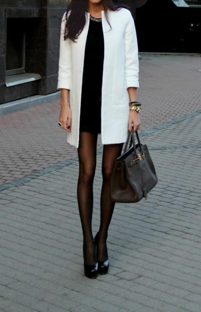 eleganter-Outfit-schwarz-weiße-Kombination