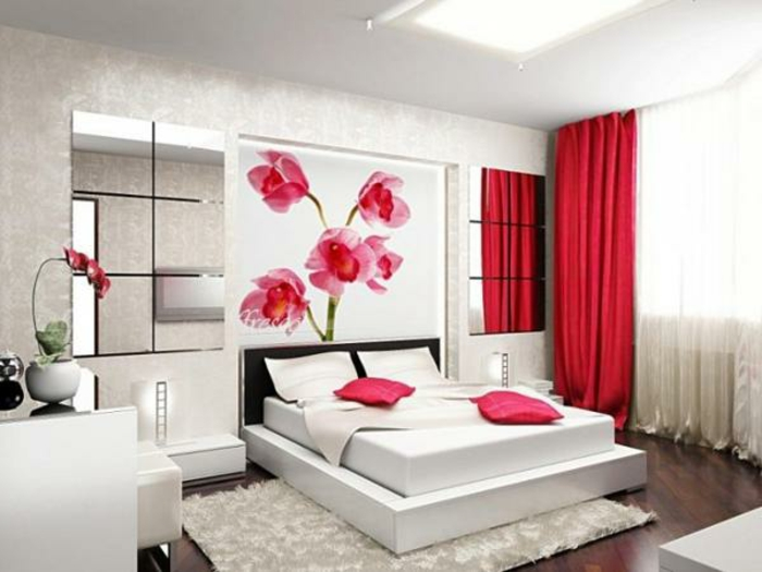 Farbliche raumgestaltung f r eine gute laune - Schlafzimmer raumgestaltung ...