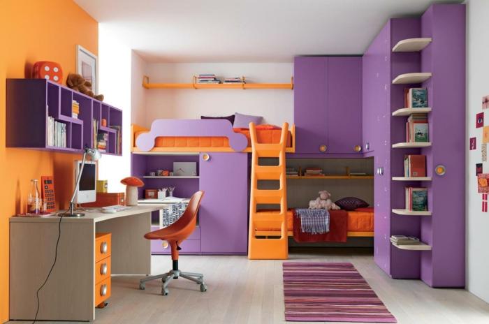 farbliche-raumgestaltung-lila-und-orange