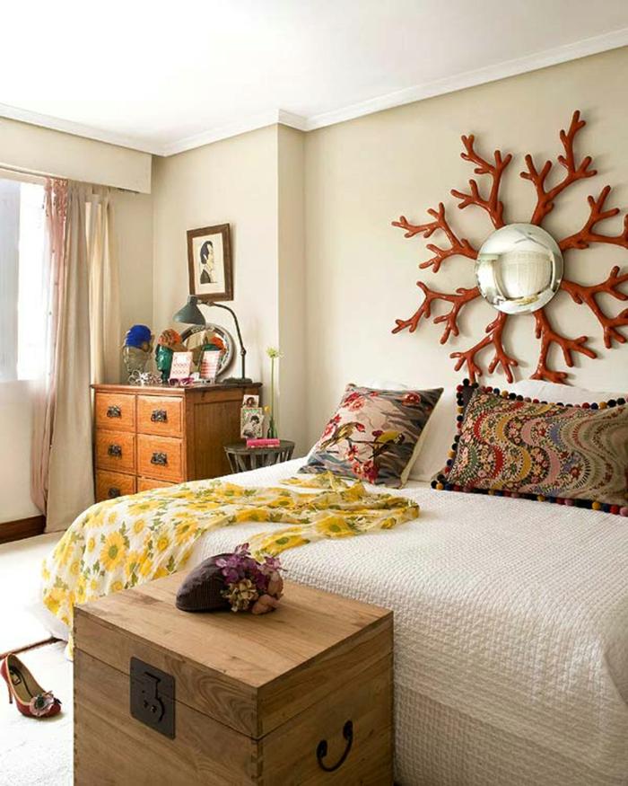 gemütliches-schlafzimmer-gestalten-coole-wandgestaltung