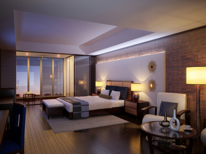 Schlafzimmer Gestalten Gemutlich : gemütlichesschlafzimmergestaltenindirektebeleuchtung