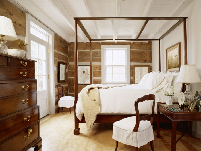 elegantes gemütliches schlafzimmer design