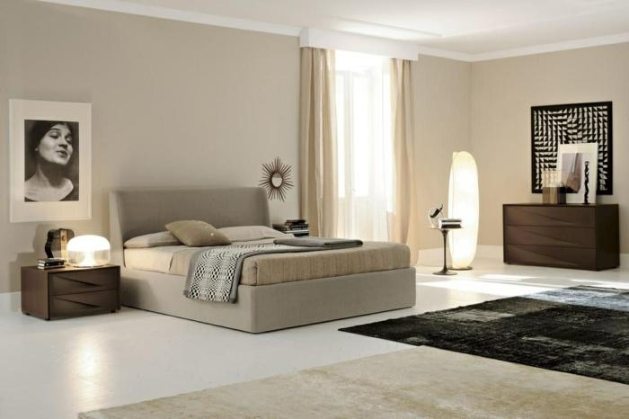 Schlafzimmer Gestalten Inspiration : Schlafzimmer gemütlich gestalten ~ Schlafzimmer gemütlich gestalten