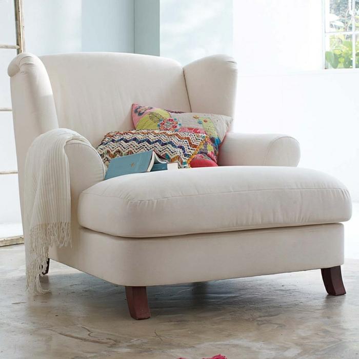 Gemütliche sessel wohnzimmer  Gemütliches Wohnzimmer gestalten: 66 Bilder! - Archzine.net