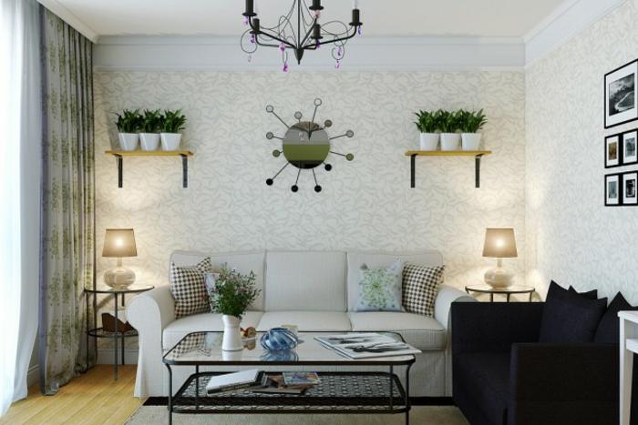 gemütliches-wohnzimmer-weiße-wand