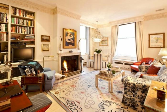 gemütliches-wohnzimmer-wunderschönes-modell-viele-regale