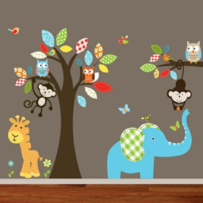 Kinderzimmer streichen ideen bilder