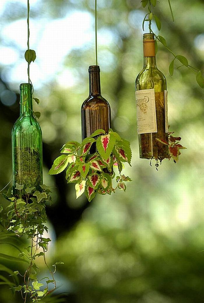 hängende-blumentöpfe-glas-flaschen
