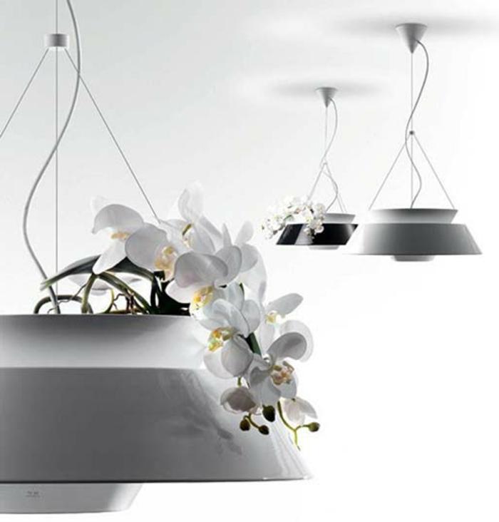 h ngende blument pfe sind eine tolle deko. Black Bedroom Furniture Sets. Home Design Ideas