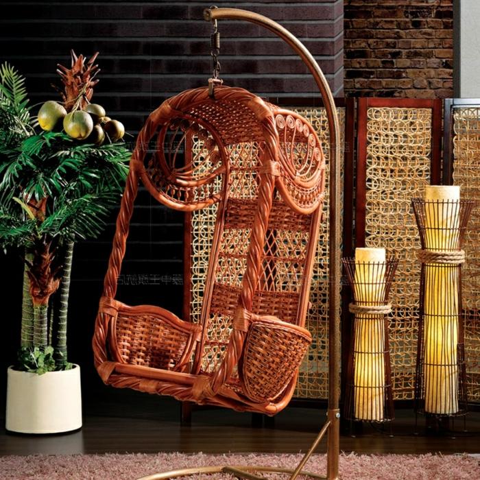 hängesessel-mit-gestell-chinezische-rattan-möbel